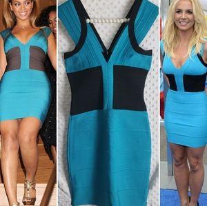 Herve Leger Bandage Dress S Britney Spears Beyonce